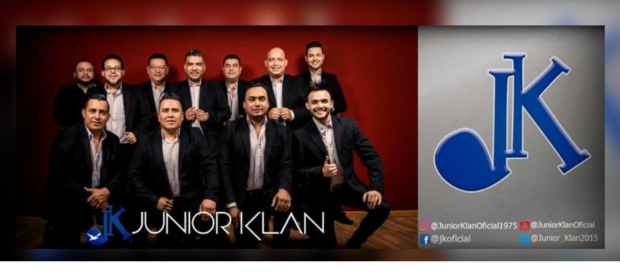 Junior Klan te invitan a su próximo concierto virtual