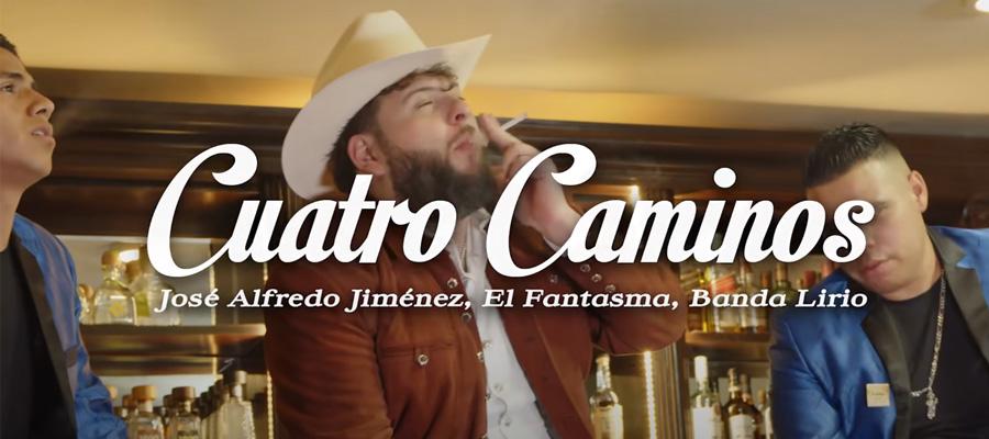 El Fantasma Realiza Dueto musical Junto a José Alfredo Jiménez y Banda Lirio