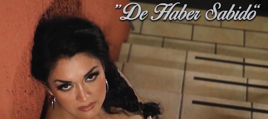 """Mya La Dama de Negro presenta """"De Haber Sabido"""""""