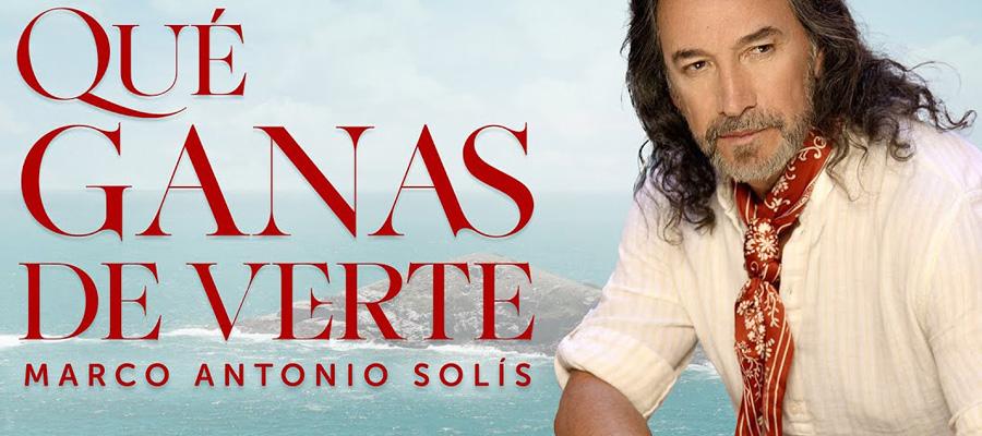 Marco Antonio Solís está de estreno